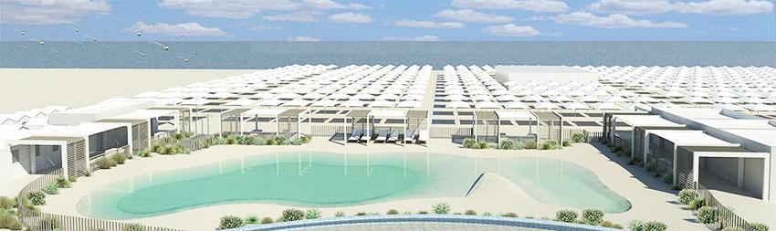 Nuova piscina sulla spiaggia di misano adriatico - Hotel misano adriatico con piscina ...